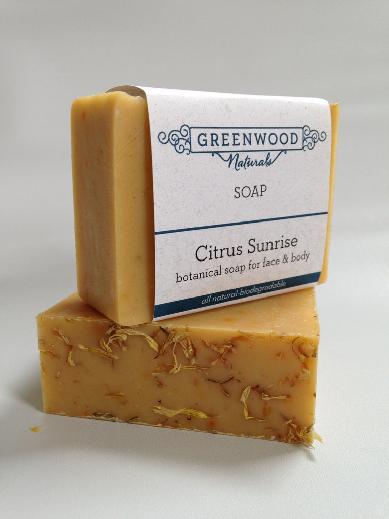 Citrus Sunrise Botanical Soap