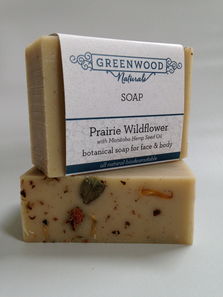 Prairie Wildflower Botanical Soap