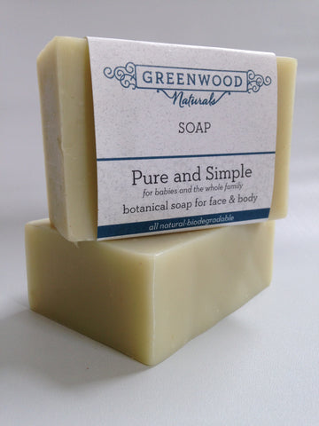 Pure and Simple Natural Soap