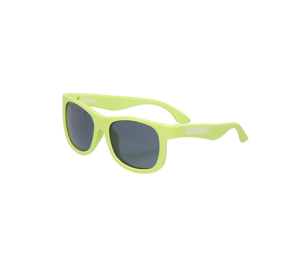 GAFAS DE SOL FLEXIBLES NAVIGATORS SUBLIME LIME (3-5 AÑOS)