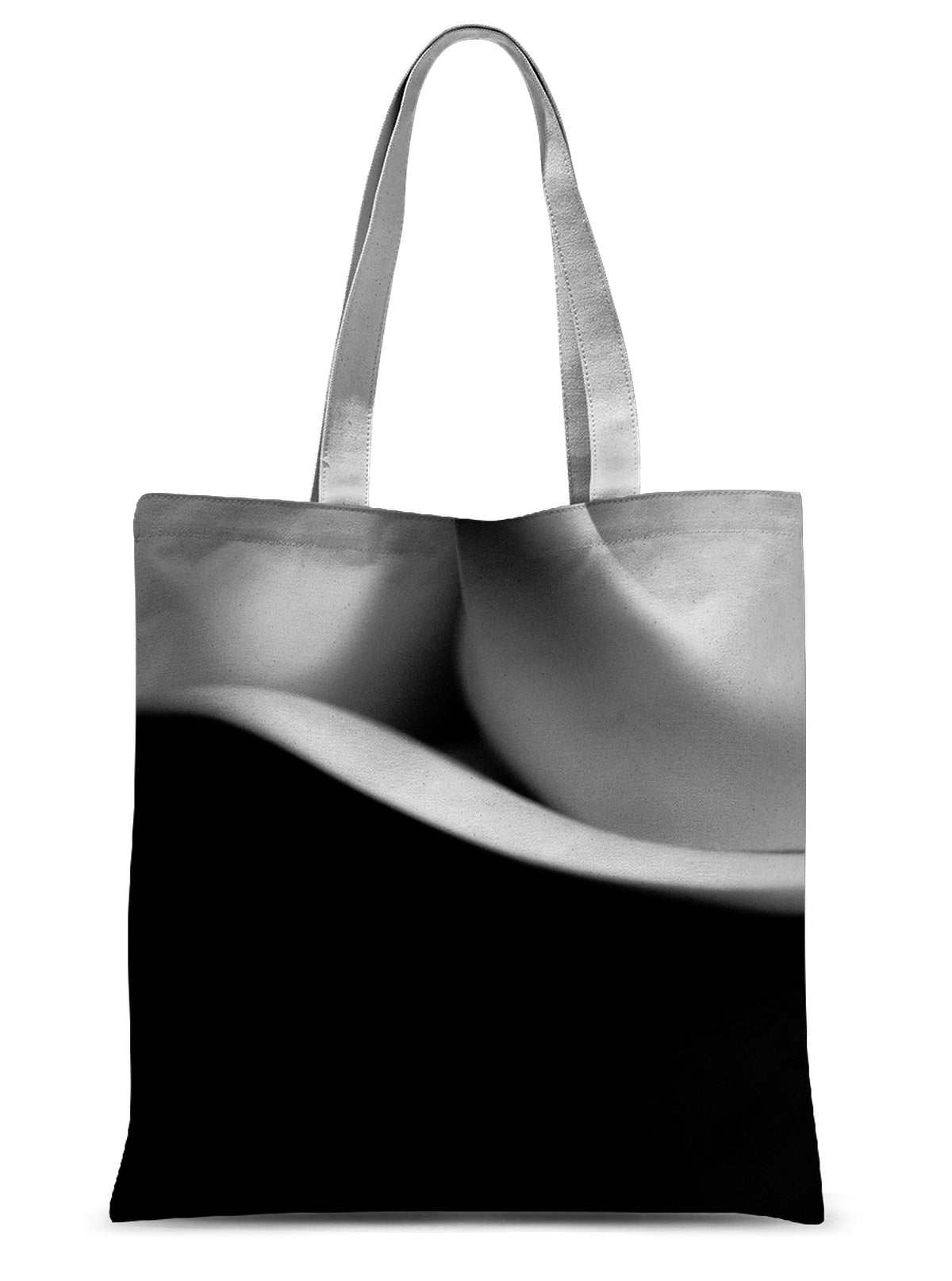 Curves-02 Sublimation Tote Bag
