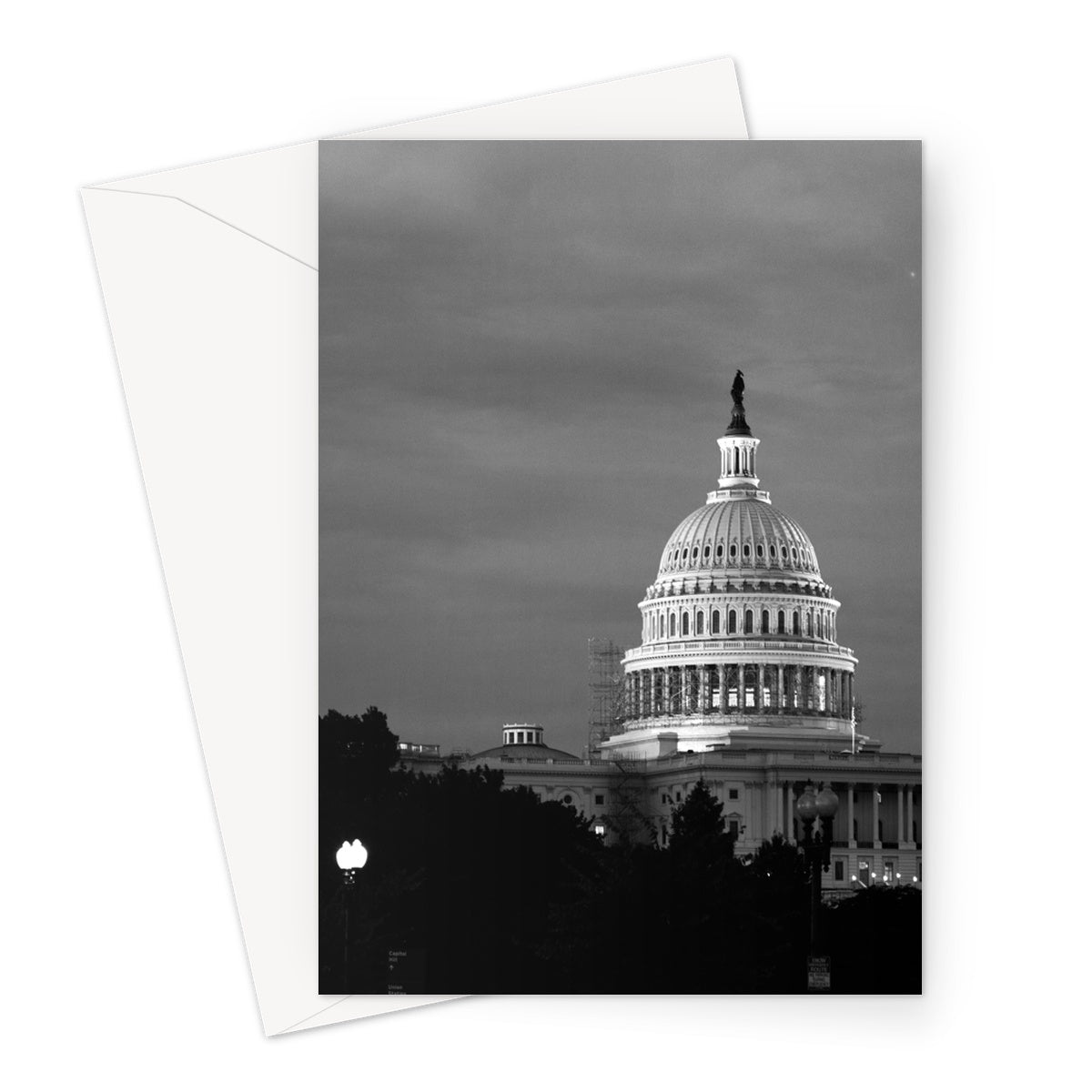 Capitol-01 Greeting Card