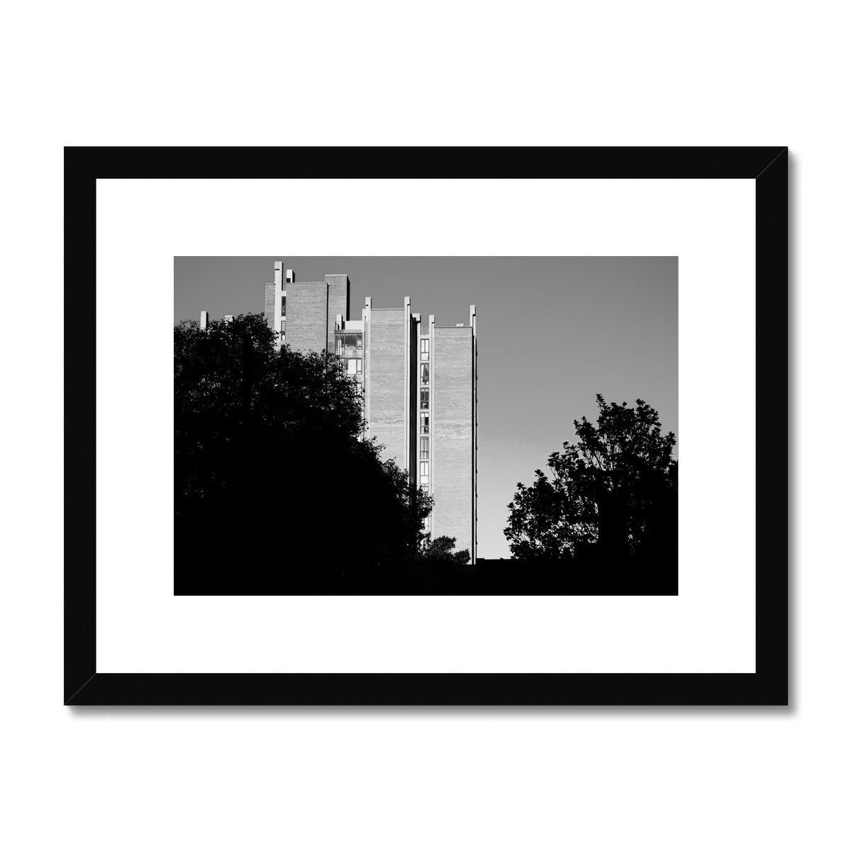 Heron House-01 Framed & Mounted Print