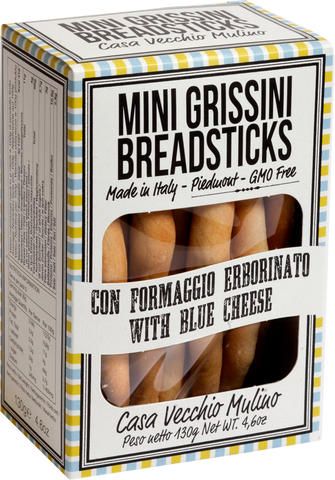 Mini Grissini Sticks - blue cheese, 150g