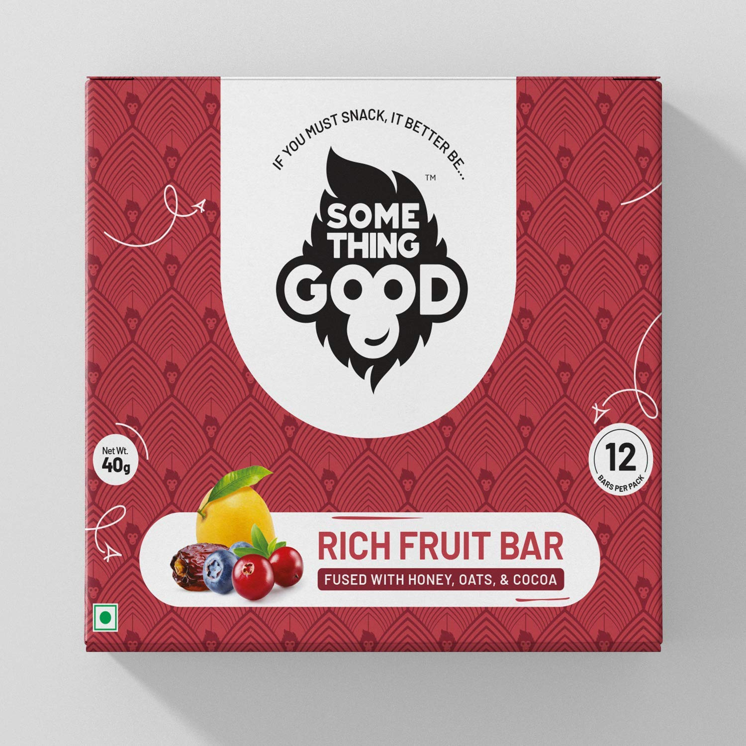 Rich Fruit Bar Pack of 12