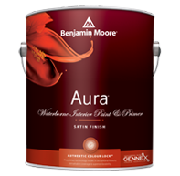 Aura Waterborne Interior Paint - Satin Finish 526