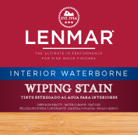 Waterborne Interior Wiping Wood Stain 1WB.1300