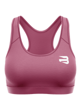Wine Red Sports Bra