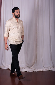 Natural Short Kurta