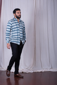 Oval Indigo Shirt