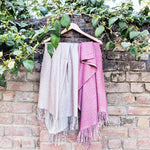 Load image into Gallery viewer, Wool and Pashmina Long Scarf