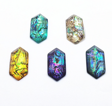 Load image into Gallery viewer, Hexagon Abalone Cabochons