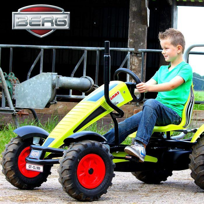 Berg Claas BFR-3 Go Kart | Claas Ride On Tractors (with gears)