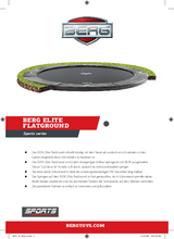 Load image into Gallery viewer, Berg Flatground Elite Trampolines