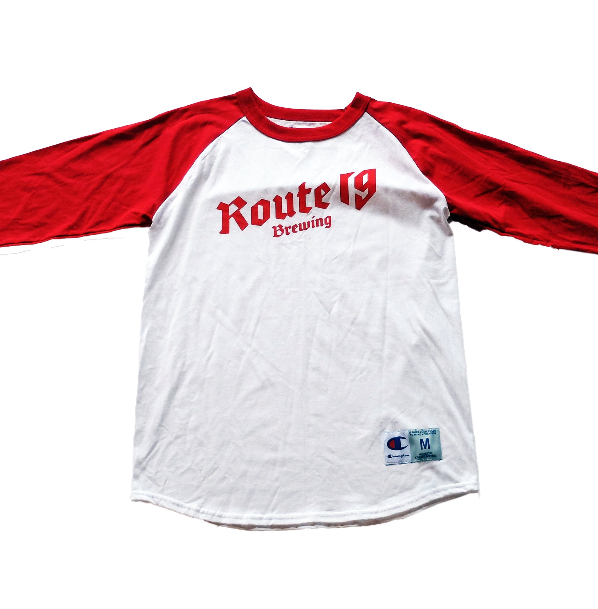Baseball Shirt - Champion Youth 'Route 19 Brewing'