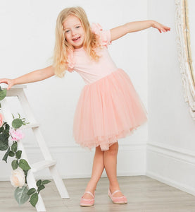 BALLERINA BLUSH TUTU DRESS