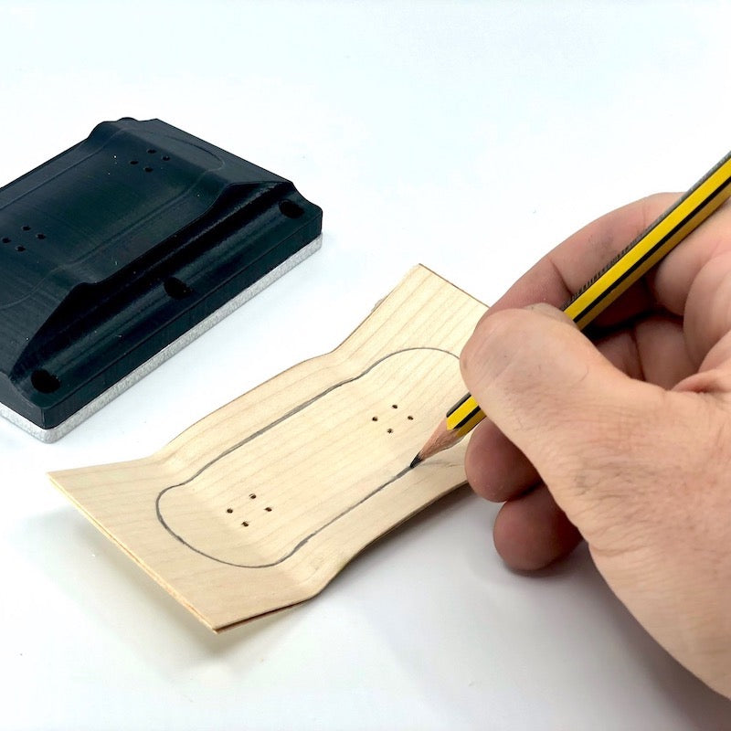How to build a Fingerboard Step 10