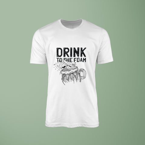 Drink To The Foam Tee