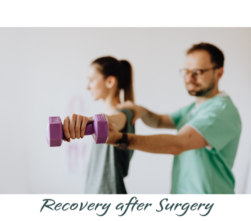 Recovery after surgery