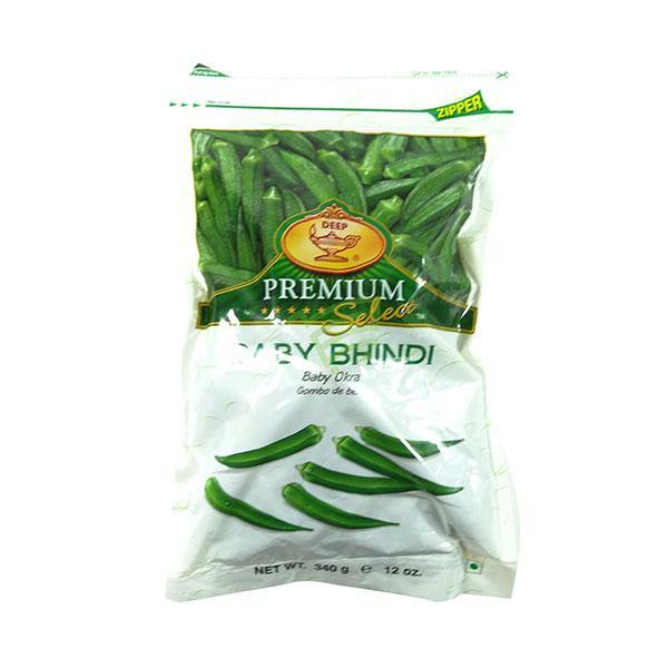 Deep Frozen Baby Bhindi  340G - Cartly