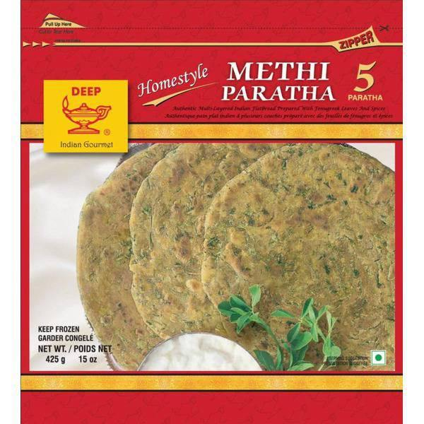 Deep Frozen Methi Parantha