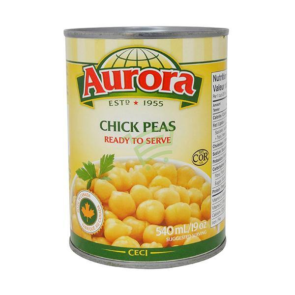 Aurora Chick Peas 540Ml