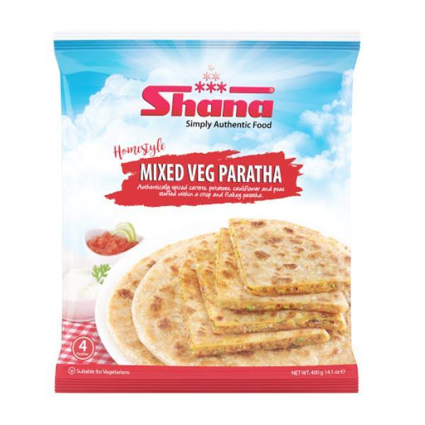 Frozen Mix Veg Paratha