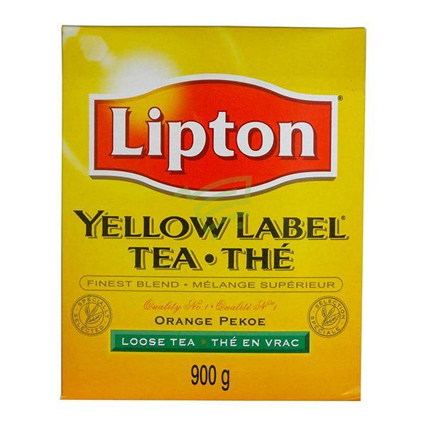 Lipton Yellow Label Tea Orange 900G