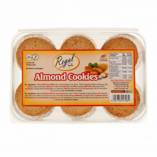 Regal Almond Cookies