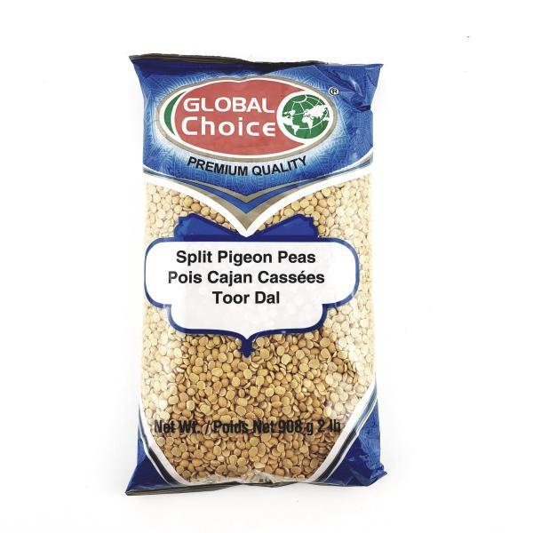 Global Choice Split Pigeon Peas (Toor Dal)