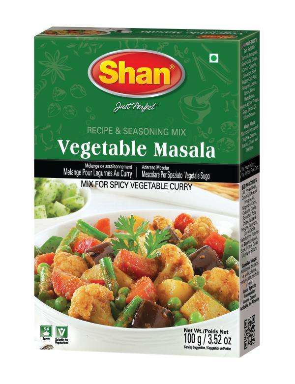 Shan Vegetable Curry Mix 100G