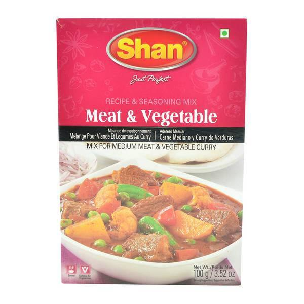 Shan Meat & Veg Curry Spice Mix 100G
