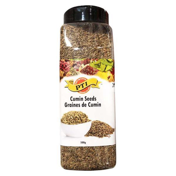 PTI Cumin Whole (Jeera) In Jar 500G
