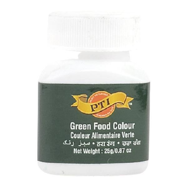 PTI Food Color Green