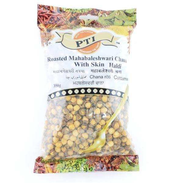 PTI Roasted Mahabaleshwari Chana With Skin Haldi 350G