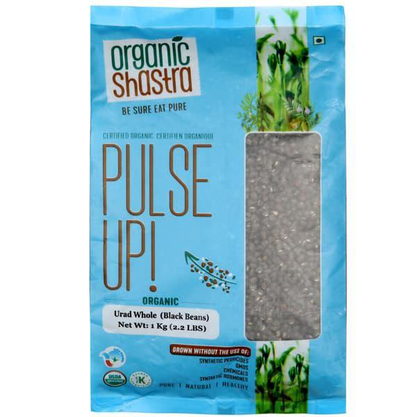 Organic Shastra Urad Whole