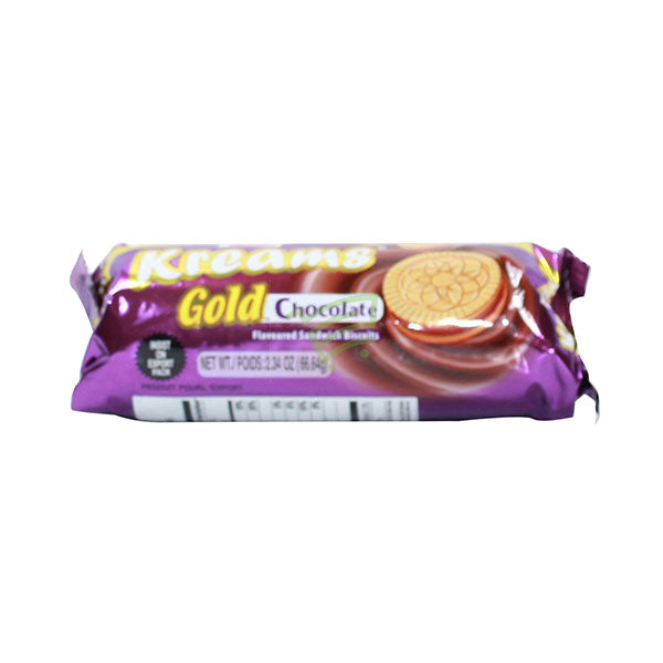 Parle Kreams  Gold Chocolate Biscuits