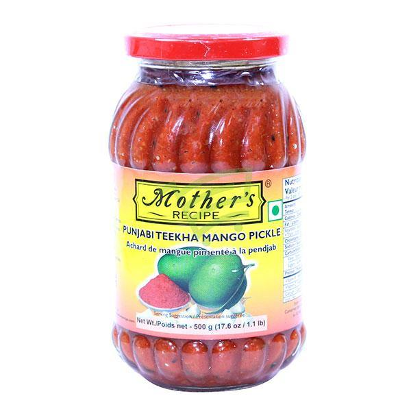 Mother'S Punjabi Teekha Mango Pickle