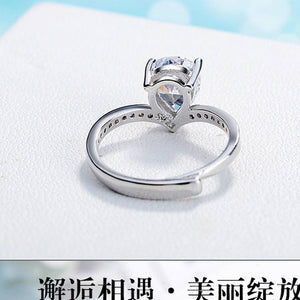 Australian Diamond Rhodium Plated Ring for Women
