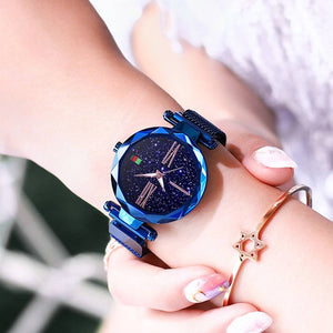 Magic Star Sky Magnetic Strap Luxury Watch
