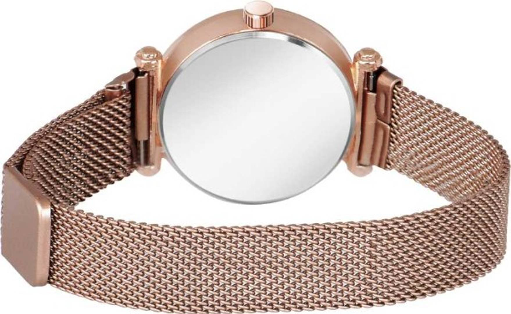 Luxurious Looking Rose Gold Starry sky Quartz Watch
