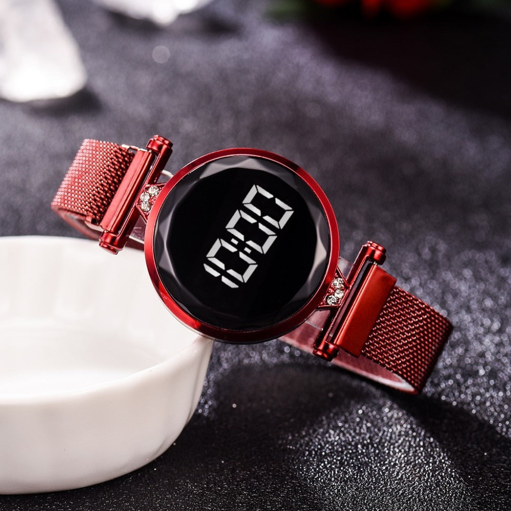 Luxurious LED Watch™ - Rich Red
