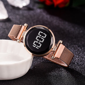 Luxurious LED Watch™ - Rose Gold
