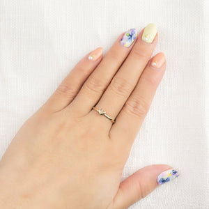 Trendy Designer Silver Ring