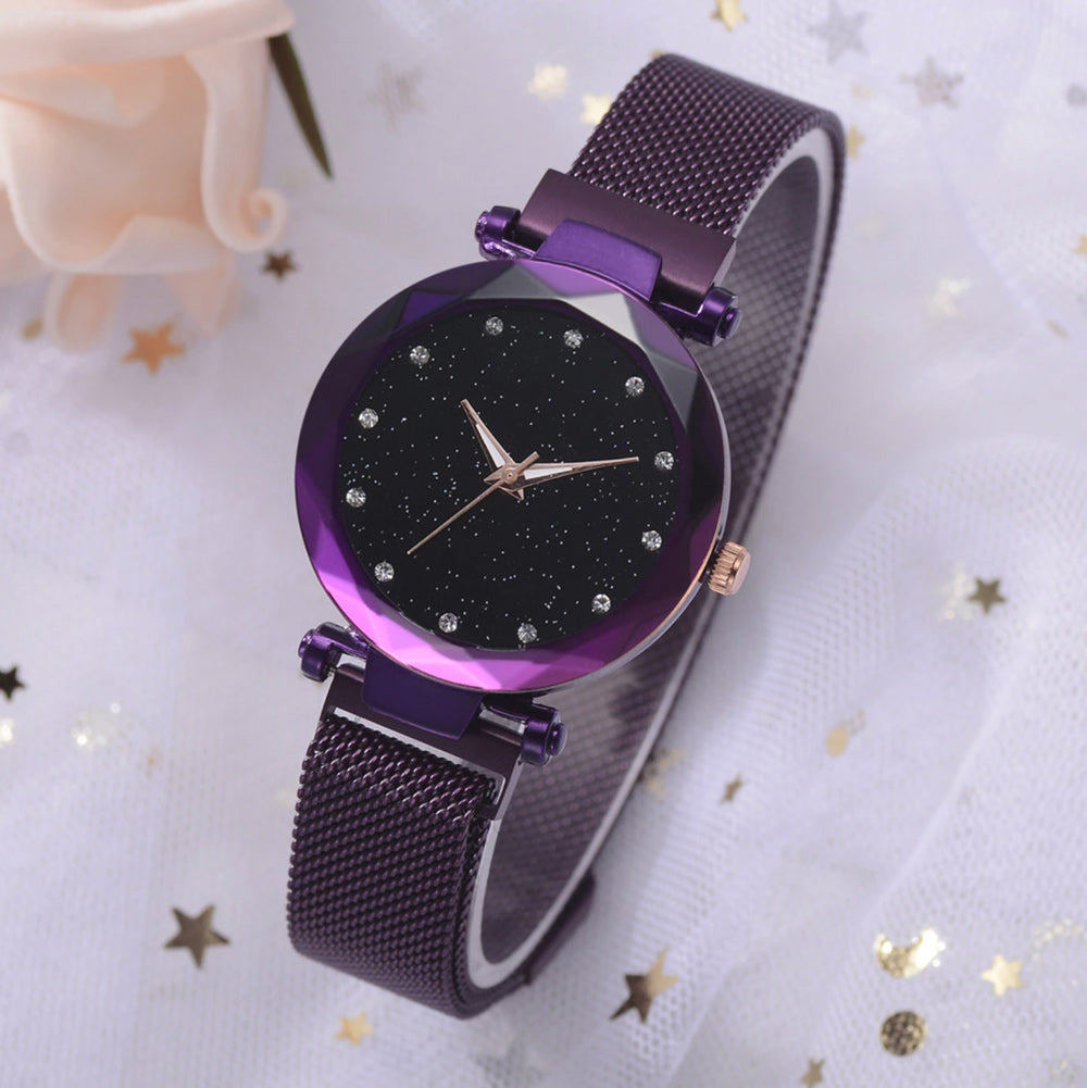 Luxurious Watch™ - Black & Purple
