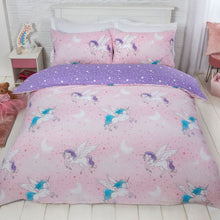 Load image into Gallery viewer, SPARKLE UNICORN DUVET SET - BLUSH