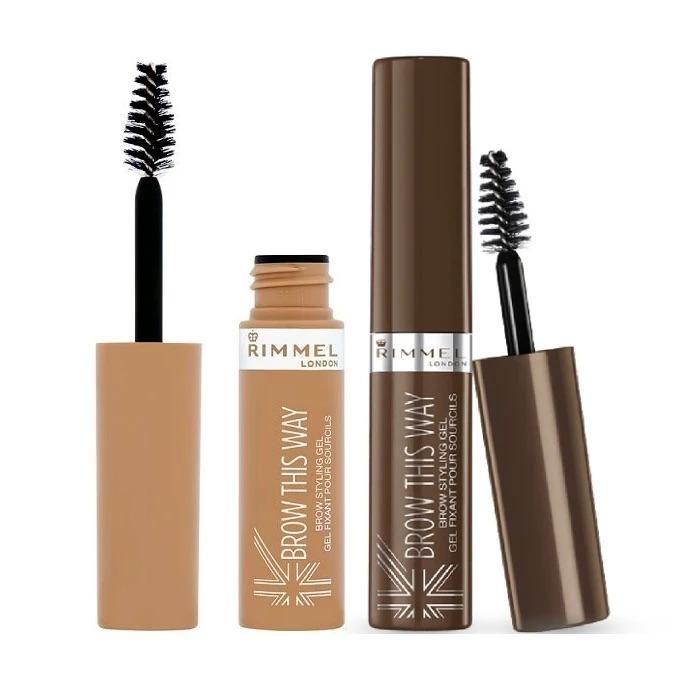 Rimmel Brow This Way Brow Styling Gel - MEDIUM BROWN