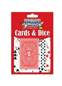 Playing Cards & Dice Set