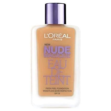 L'Oreal Nude Magique Eau De Teint Foundation - CHOICE OF SHADES