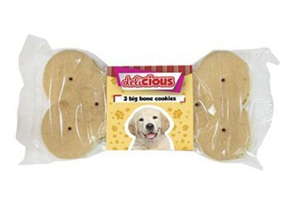 World Of Pets - 3pk Big Bone Dog Cookie Biscuit